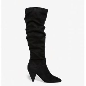 Beautiful Express Slouch Heel Boots NWT